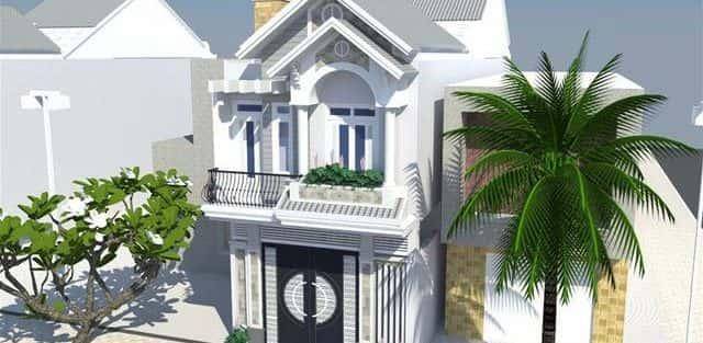 Mẫu thiết kế nhà phố 5x20m