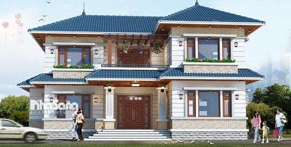 nhà 1 trệt 1 lầu 900 triệunha dep 2 tang chu l 1453263540 - Tư vấn thiết kế nhà 1 trệt 1 lầu 900 triệu