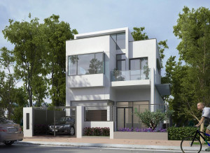 nhà 2 tầng 5x17m70 300x219 - Mẫu thiết kế nhà 5x17m đẹp