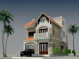 nhà 2 tầng diện tích 100m2 voi nhung mau biet thu 2 tang 100 m2 4 300x224 - thiết kế nhà 2 tầng  diện tích 100m2