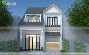 nha 2 tang mat tien 8m dep 5 300x186 - thiết kế nhà 2 tầng 8x10m