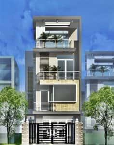 nha 3 tang 1 tum ban ve nha ong 3 tang 1 tum 60m2 dep 236x300 - Tư vấn thiết kế nhà phố 8x20m với kinh phí 600 triệu