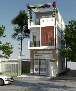 nha 3 tang duoi 1 ty 5 1418695691 660x0 250x300 - Thiết kế nhà 4 tầng với 4 phòng ngủ diện tích 5 x 11 m