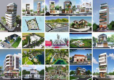 nha dep da nang 400x283 - Thiết kế nhà Đà Nẵng