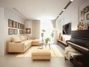 nha mau chung cu du an ms001g 300x225 - Những lưu ý với với phong thủy trong căn hộ chung cư