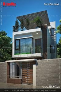 nha-pho-2-5-tang-co-san-thuong-sh-nod-0098-nhà 2 tầng 5x15m