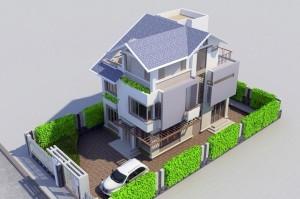 phoi-canh-biet-thu-3-tang-8x14m-thiết kế nhà 8x14m