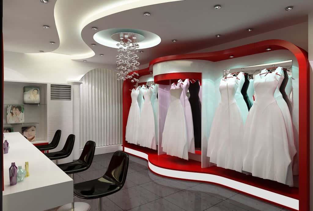 showroom cuoi - Nội thất showroom