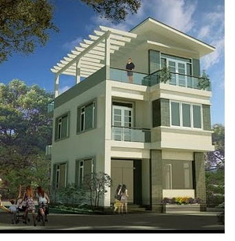 thiết kế nhà 8x14m đẹp - Thiết kế nhà Phú Yên