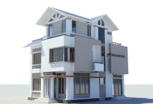 thiết kế nhà 8x14m biet-thu-3-tang-8x14m-1