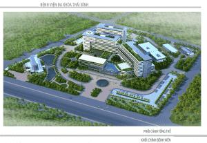 thiet ke benh vien da khoaBV THAI BINH 300x207 - Thiết kế bệnh viện đa khoa