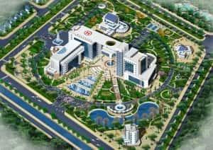 thiet ke benh vien da khoaBenh vien da khoa Nam Dinh   PA giai nhat 5 300x212 - Thiết kế bệnh viện đa khoa