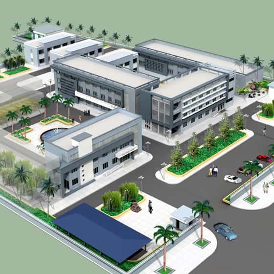 thiet ke benh vien da khoabenh vien van giang 2 - Thiết kế bệnh viện đa khoa