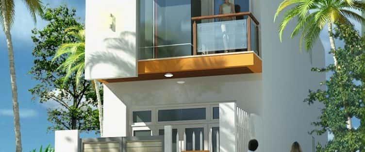 Tư vấn thiết kế nhà phố 8x20m với kinh phí 600 triệu