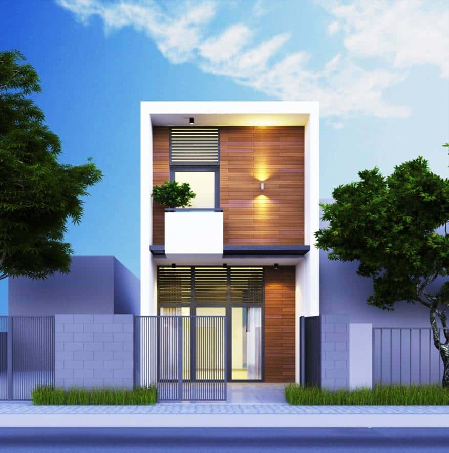 thiet ke nha 2 tang dep 6 - thiết kế nhà 2 tầng 5x18m