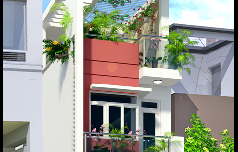 Thiết kế Nhà trên đất diện tích 30 m2