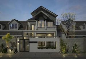 thiet-ke-nha-pho-hien-dai-2-tang-nhà 2 tầng 8x20m