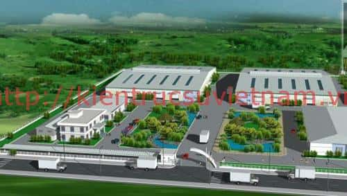 Thi công xây dựng nhà xưởng tại Hải Dương
