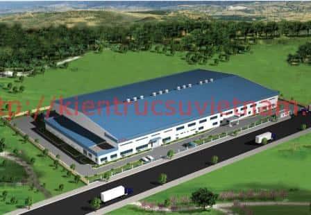 thiet ke nha xuong san xuat Thiet ke nha xuong5 - Thi công xây dựng nhà xưởng tại Bắc Ninh