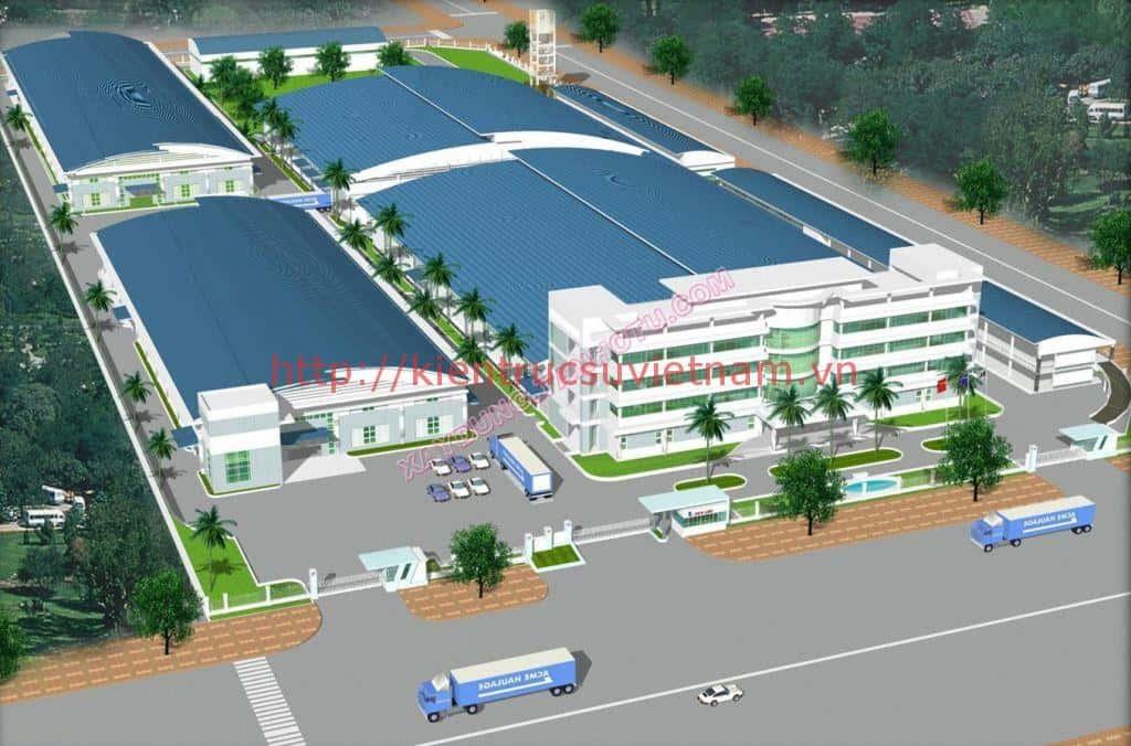 thiet ke nha xuong san xuat thiet ke nha xuong 1 - Thi công xây dựng nhà xưởng tại Bắc Ninh