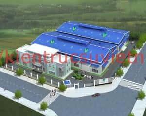 thiet ke nha xuong san xuat vietmec 1 300x240 - Thiết kế thi công nhà xưởng tiền chế tại Bà Rịa - Vũng Tàu