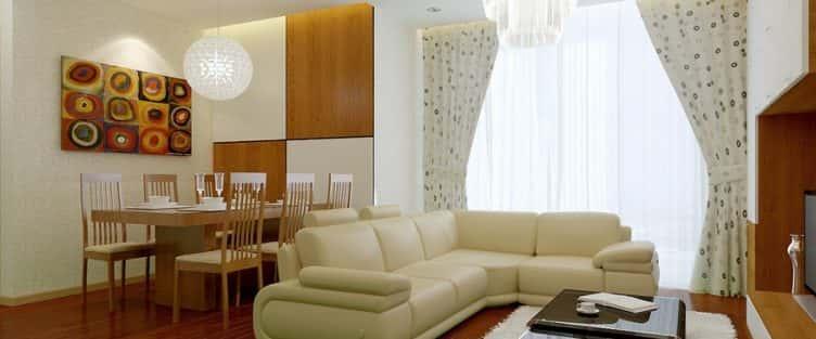 Tư vấn thiết kế nội thất chung cư 65m2  đẹp tiện nghi
