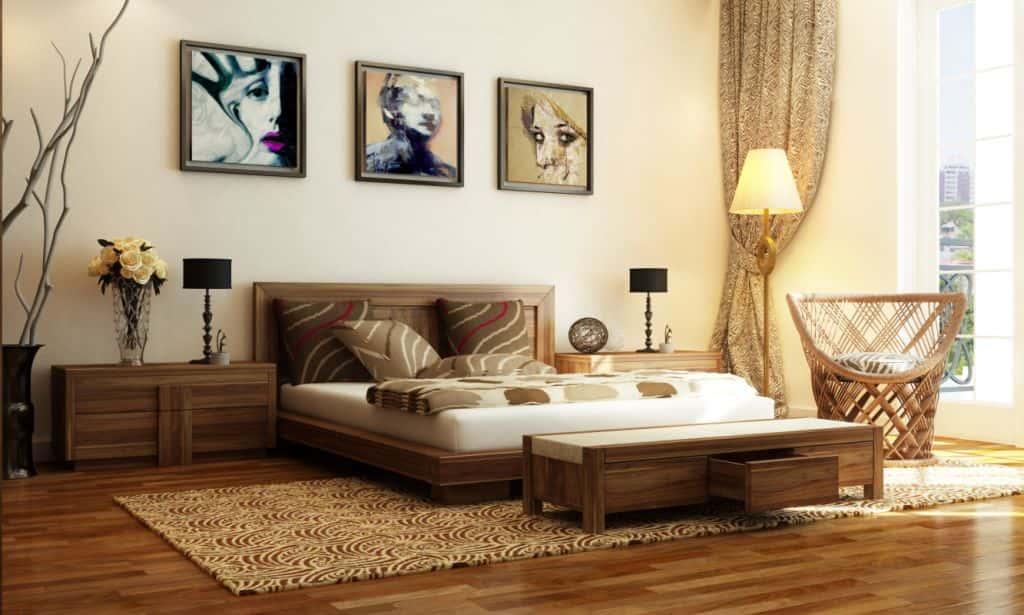 thiet ke noi chung cu 120m2 noi that phong ngu chung cu - Thiết kế nội thất chung cư 3 phòng ngủ