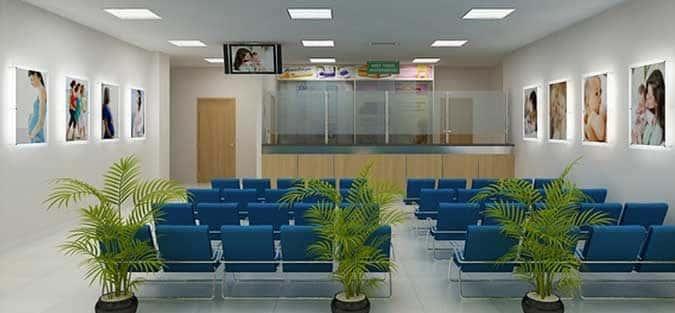 Thiết kế nội thất bệnh viện