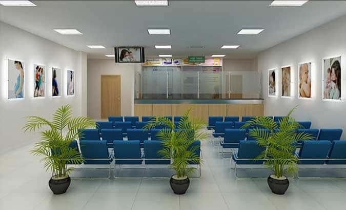 thiet ke noi that benh vien bvien - Thiết kế nội thất bệnh viện