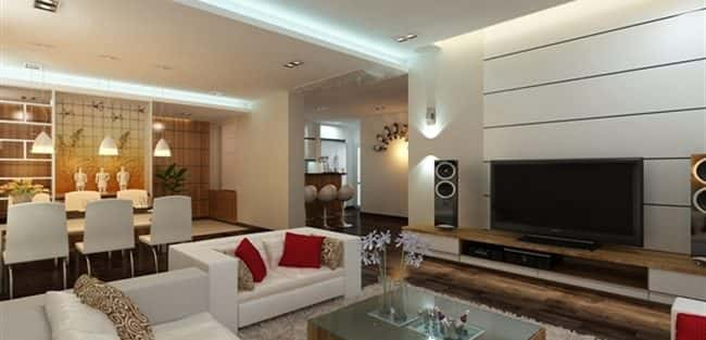 Thiết kế nội thất chung cư 89 m2