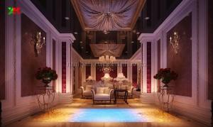 thiet ke noi that khách san sanh ngoai khach san 300x179 - Thiết kế nội thất khách sạn tại Khánh Hòa