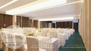 Thiết kế Khách sạn Grace Hotel Thái nguyên sang trọng