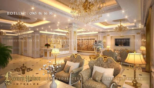 Thiết kế nội thất khách sạn tại Thái Bình