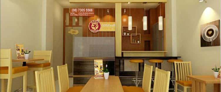 7 mẫu Thiết kế nội thất quán cafe Quảng Nam
