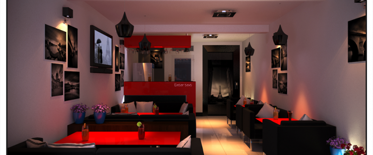 Thiết kế nội thất quán cafe tại Bình Thuận sang trọng