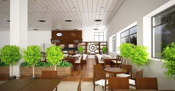 Tư vấn thiết kế nội thất quán cafe tại Bình Định