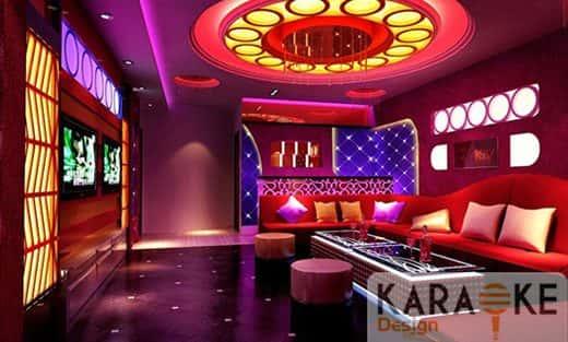 Thiết kế nội thất quán karaoke tại Bạc Liêu
