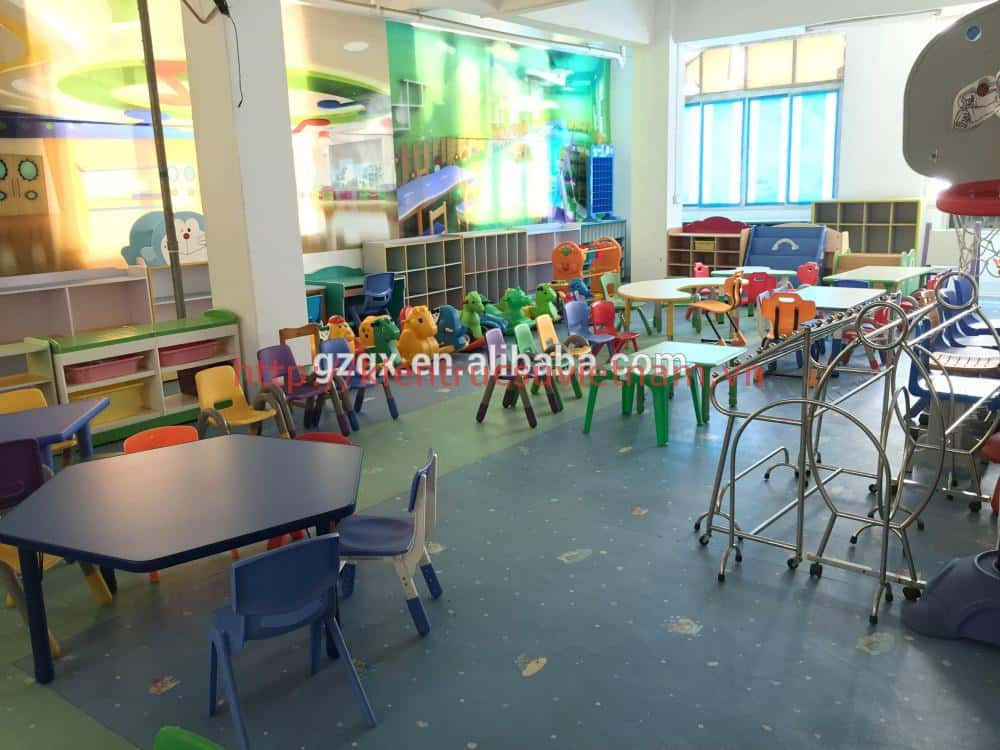 Thi t k n i th t tr ng m m non t i h u giang ki n tr c for School furniture used