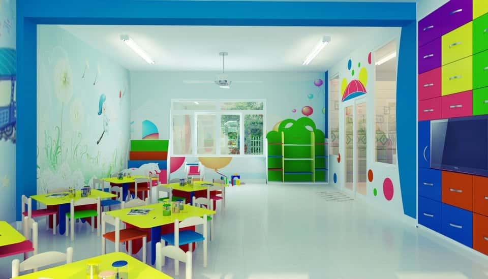 thiet ke truong mam non 012013NoiThatMNBeYeu1 - Thiết kế trường mầm non tư thục, mầm non quốc tế, công lập