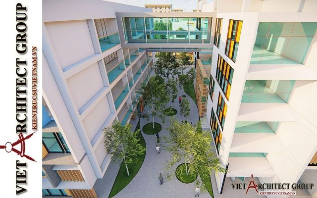 thiet ke truong mam non viet architect group 2021 2 e1622806603590 - Thiết kế trường mầm non đẹp