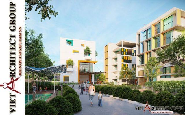 thiet ke truong mam non viet architect group 2021 3 e1622806615268 - Thiết kế trường mầm non đẹp