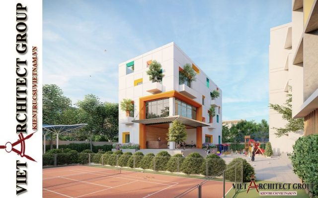 thiet ke truong mam non viet architect group 2021 5 e1622806591942 - Thiết kế trường mầm non đẹp