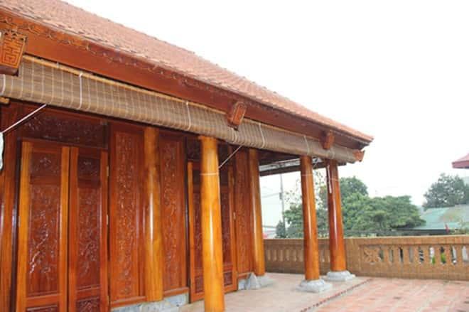 thiet ke va thi cong nha go dep 15 - Thiết kế và thi công nhà gỗ đẹp