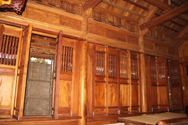 thiet ke va thi cong nha go dep 3013441nha go mit 5 gian - Thiết kế và thi công nhà gỗ đẹp