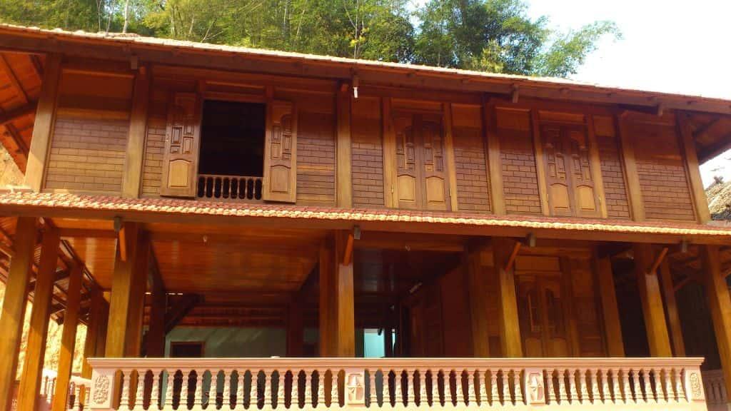 thiet ke va thi cong nha go dep - Thiết kế và thi công nhà gỗ đẹp