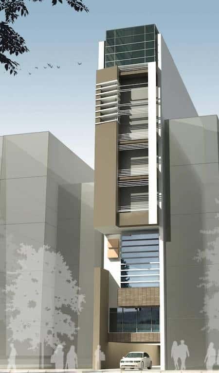 1471336844 nha pho 6 tang 4 - Thiết kế nhà 6 tầng đẹp