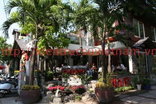 Thiết kế nội thất quán cafe tại Thái Bình