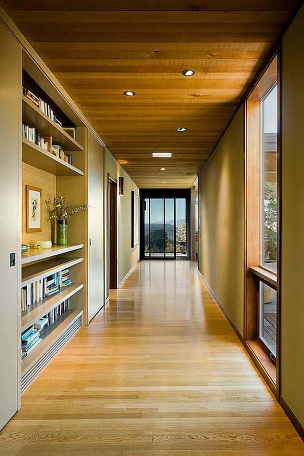 Thiết kế tiền sảnh và hành lang ngôi nhà