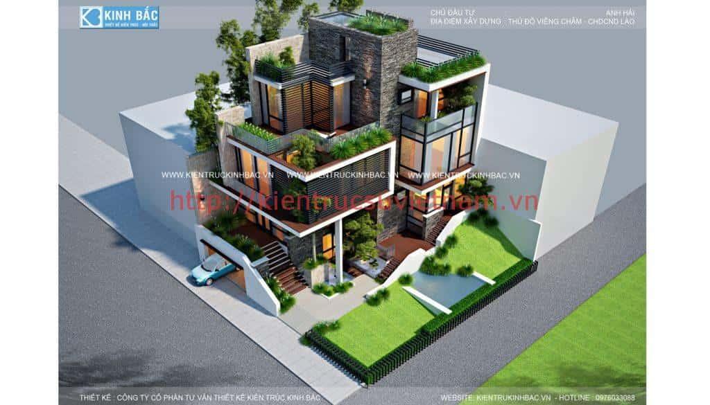 PC3 1024x585 - Kts Nguyễn Văn Trình tư vấn thiết kế biệt thự Viêng Chăn Lào