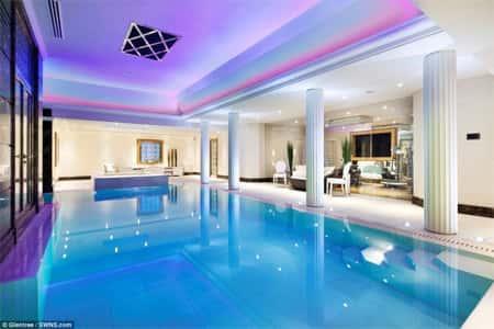 be boi trong nha - Các dự án thiết kế nhà biệt thự có bể bơi đẹp đã thực hiện